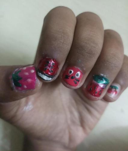 NAIL ART & AD. MAKING POSTER COMPETITION