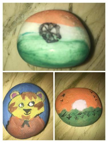 STONE PAINTING COMPETITION