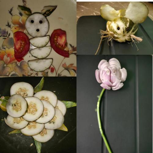 VEGETABLE-FRUIT CARVING COMPETITION